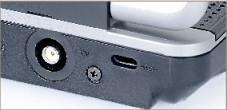 Medion MD 98100 Der TV-Empfänger für digitales Antennenfernsehen (DVB-T) ist bereits im Notebook eingebaut. Sie müssen lediglich die mitgelieferte Stabantenne in die Buchse an der Rückseite stecken.