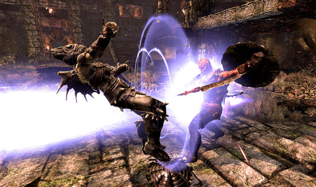 Actionspiel Hunted – The Demon's Forge: Magie ©Bethesda