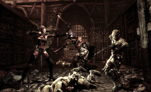Actionspiel Hunted – The Demon's Forge: Metzelei ©Bethesda
