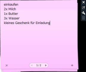 Notizen für Windows 7