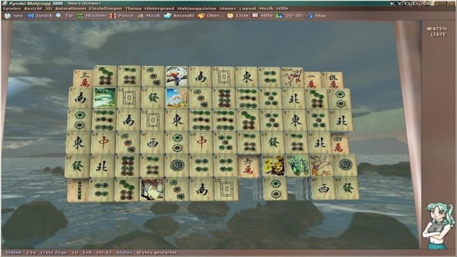 Kyodai Mahjongg ©Cyna Games
