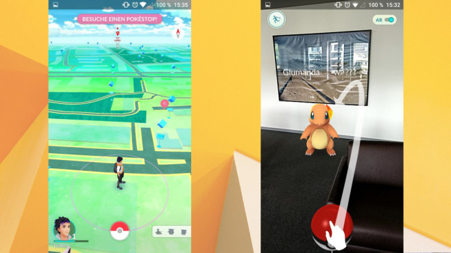 Pokémon GO (APK) ©COMPUTER BILD, Niantic