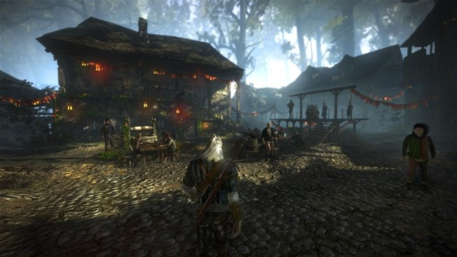 Rollenspiel The Witcher 2: Handelsposten © CD Projekt