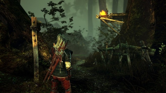 The Witcher 2: Wald © CD Projekt