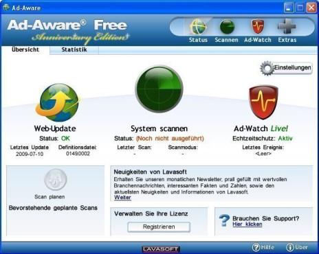Ad-Aware ©Screenshot