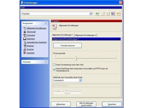 PDFCreator ©Screenshot