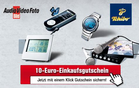 Aktion: Zehn-Euro-Gutschein für Tchibo.de©Tchibo.de