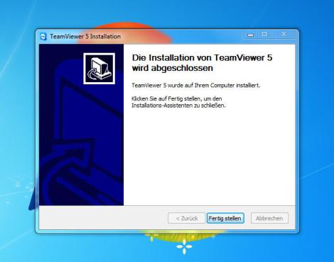 TeamViewer installiert