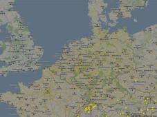 Screenshot Flightradar©Flightradar24.com