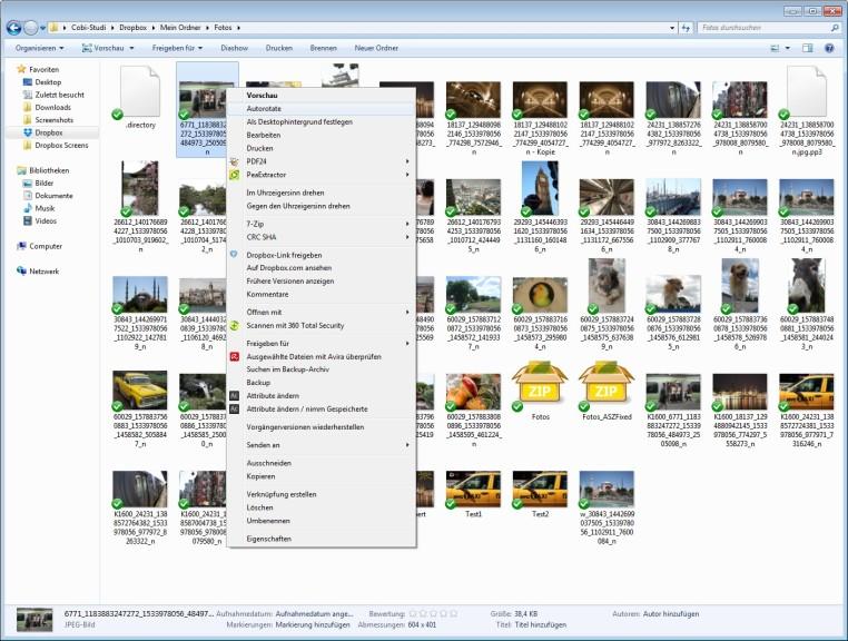Screenshot 1 - JPEG-EXIF Autorotate
