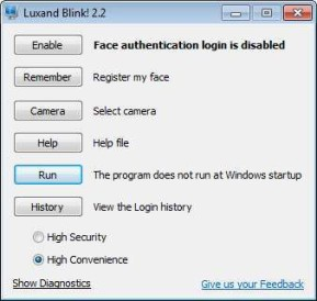 Luxand Blink