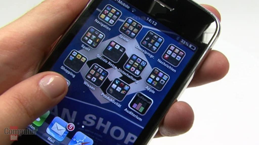 iPhone OS 4.0: Gruppierte Apps