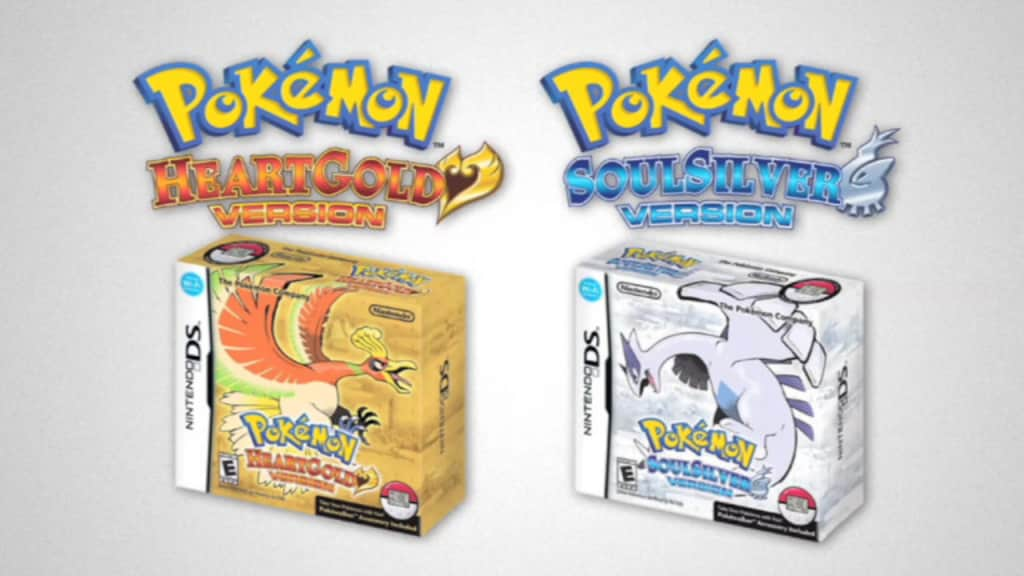 Pokemon DS: 2 Packshots