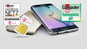 Die Schnäppchen der Woche Sichern Sie sich den Telekom LTE-Tarif inklusive Galaxy S6 Edge zum Knallerpreis©Samsung/Telekom/GetHandy/Mobilcom Debitel/COMPUTER BILD