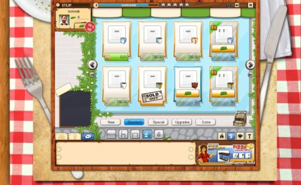 Onlinespiel Pizza Connection: Cash & Coins © Playgenic