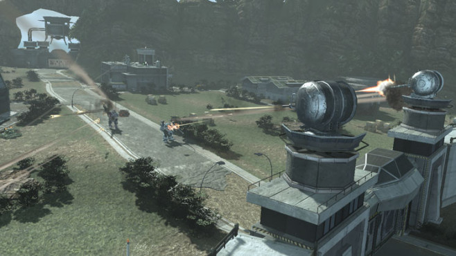 Actionspiel Front Mission Evolved: Festung © Square Enix