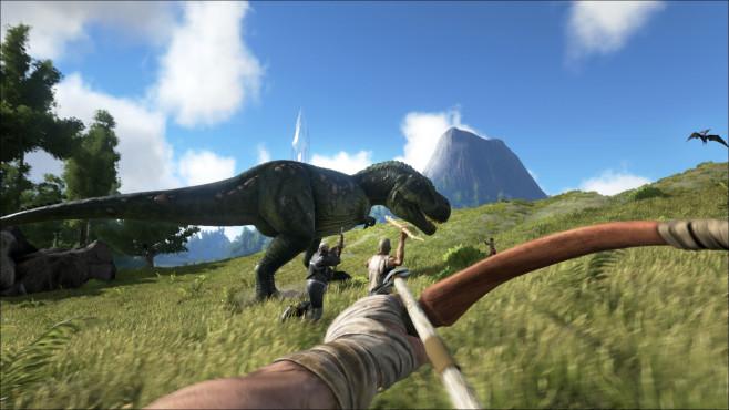 Ark – Survival Evolved: Dinojagd ©Studio Wildcard