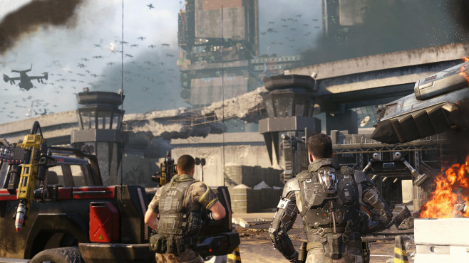 Black Ops 3: Ramses Station ©Activision