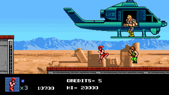 Double Dragon 4 ©Arc System Works