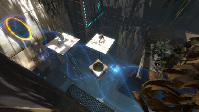 Geschicklichkeitsspiel Portal 2: Abgrund ©Valve