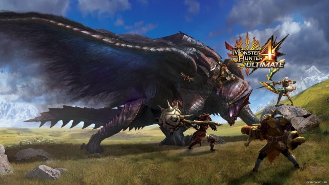 Monster Hunter 4: Kampf © Capcom