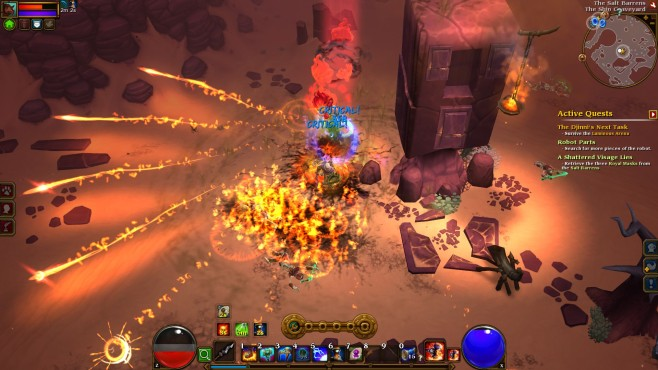 Rollenspiel Torchlight 2: Angriff ©Runic Games