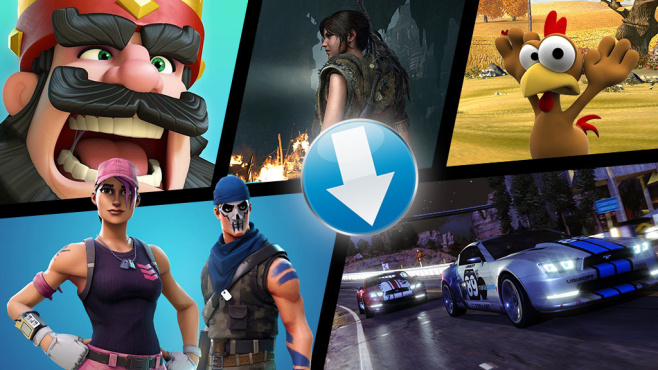 Gratis-Downloadspiele © Epic Games, Supercell, Phenomedia, Enlight Software, Nicobass, Square Enix