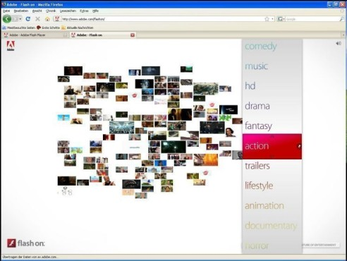 Adobe Flash Player © Screenshot