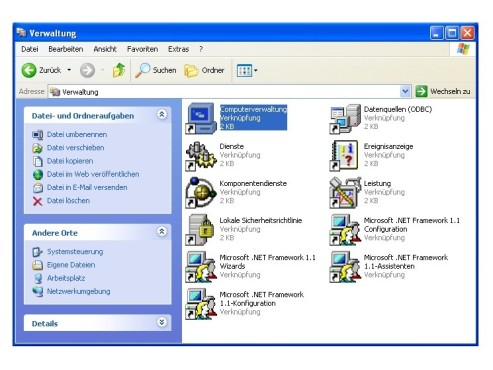 Computerverwaltung ©COMPUTER BILD