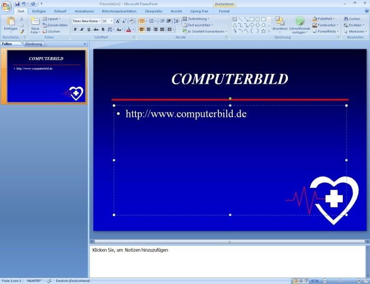 Screenshot 1 - Free PowerPoint Templates