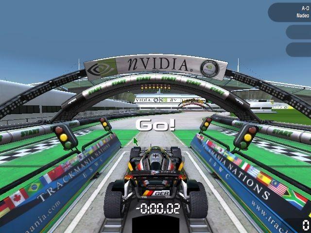 Screenshot 1 - TrackMania Nations