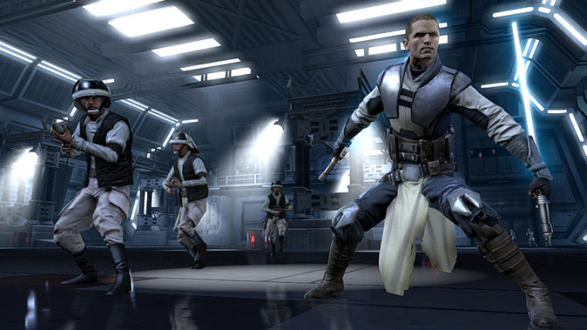 Star Wars – The Force Unleashed 2: Raum © Activision