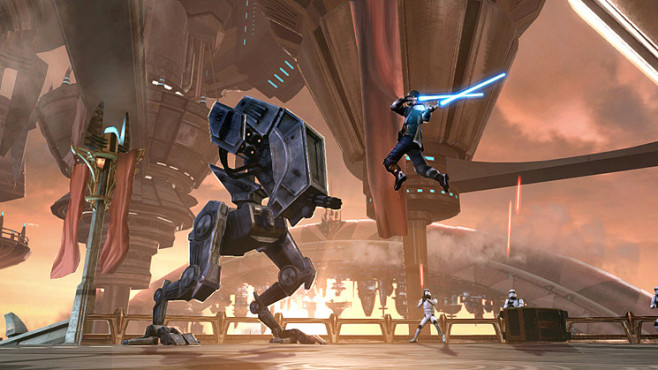 Star Wars – The Force Unleashed 2: Walker © Activision