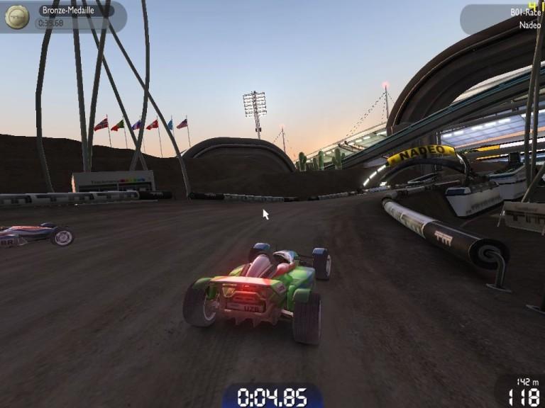 Screenshot 1 - TrackMania Nations Forever