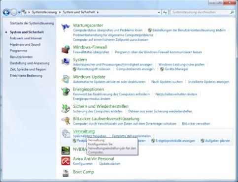 Festplatte partitionieren ©COMPUTER BILD