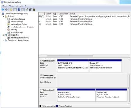 Von NTFS zu FAT32 ©COMPUTER BILD