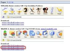 """WinRAR: Neue Themes für """"WinRAR"""" kostenlos herunterladen"""
