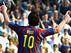 Fußballspiel Pro Evolution Soccer 2011: Messi©Konami