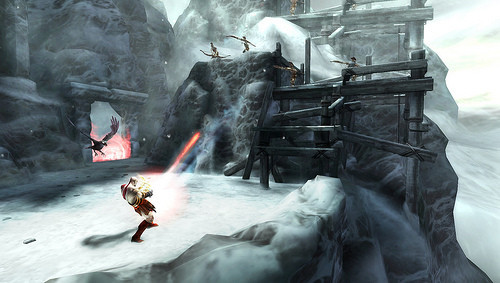 Actionspiel God of War – Ghost of Sparta: Kampf © Sony