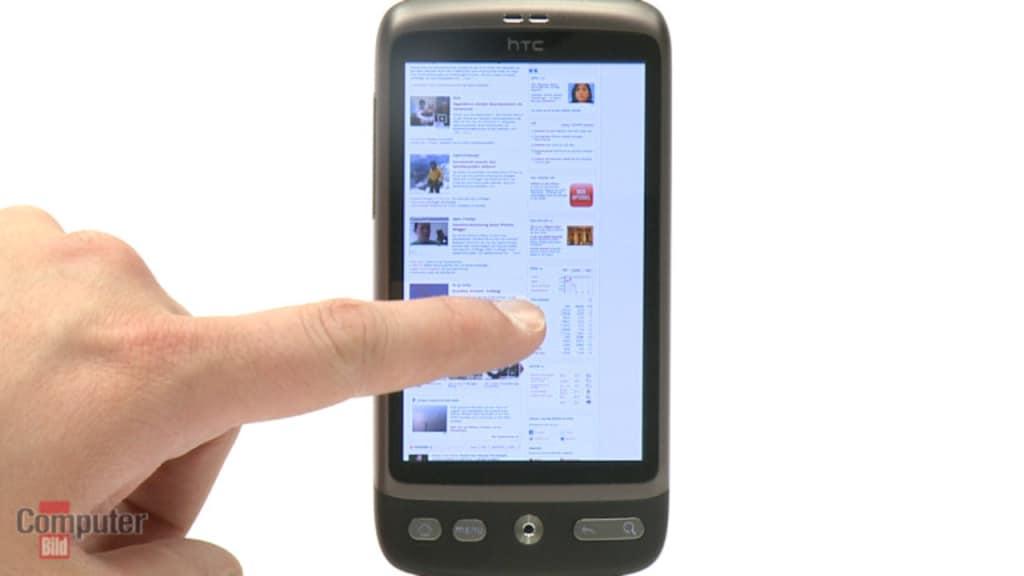 Video zum Test: HTC Desire – Smartphone der Extraklasse