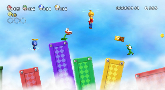 Lara 2010: New Super Mario Bros. Wii