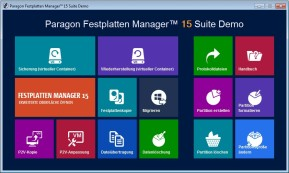 Paragon Festplatten Manager Suite