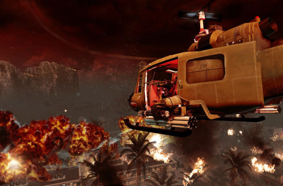Actionspiel Call of Duty – Black Ops: Hubschrauber © Activision