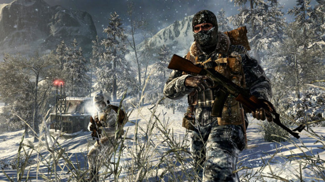Actionspiel Call of Duty – Black Ops: Schnee © Activision