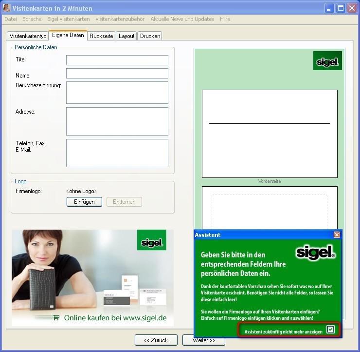 Visitenkarten Programm Kostenlos â Visitenkarten Erstellen