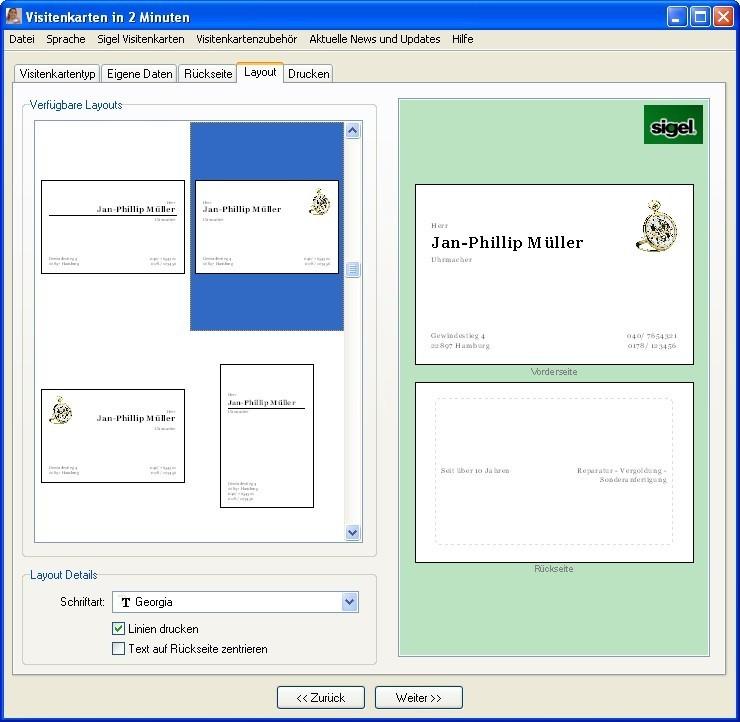 Eigene Visitenkarten Kostenlos Erstellen Und Drucken