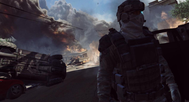 Actionspiel Ghost Recon – Future Soldier: Explosionen © Ubisoft