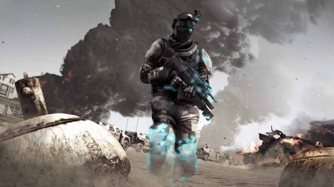Actionspiel Ghost Recon – Future Soldier: Gruppe © Ubisoft