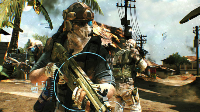 Actionspiel Ghost Recon – Future Soldier: Team © Ubisoft