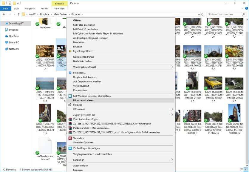Screenshot 1 - Image Resizer für Windows
